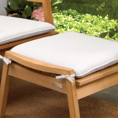 Everleigh Outdoor Ottoman Cushion Fabric: Natural