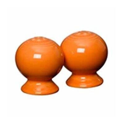 Fiesta Salt & Pepper Set Color: Tangerine