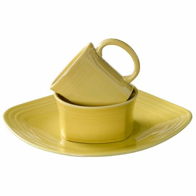3 Piece Place Setting Color: Sunflower