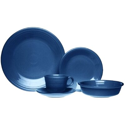 5 Piece Place Setting Color: Cobalt