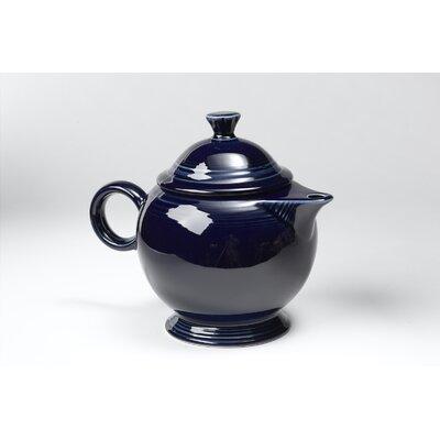 Fiesta Cobalt 44 Oz Covered Teapot