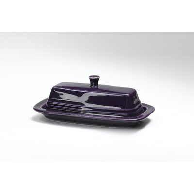 Plum Butter Dish With Lid