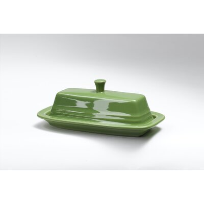 Shamrock Butter Dish With Lid