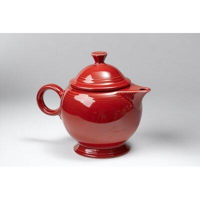 Fiesta Scarlet 44 Oz Covered Teapot