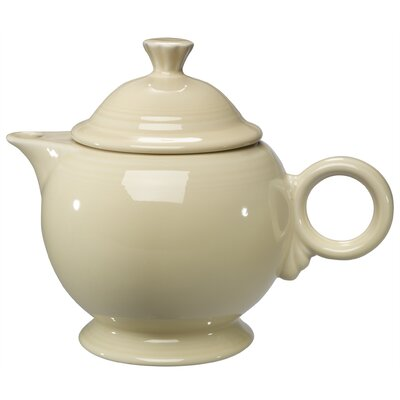 Fiesta Ivory 44 Oz Covered Teapot