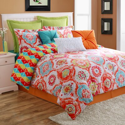 Ava Comforter Set Size: Queen