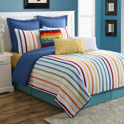 Baja Reversible Quilt Set Size: King