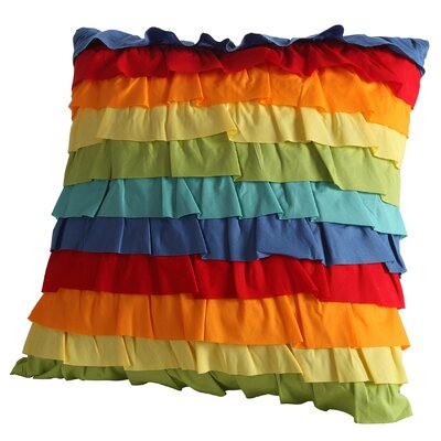 Baja Ruffled Throw Pillow