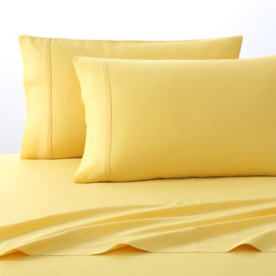 300 Thread Count 100% Cotton Sheet Set Size: King, Color: Yellow
