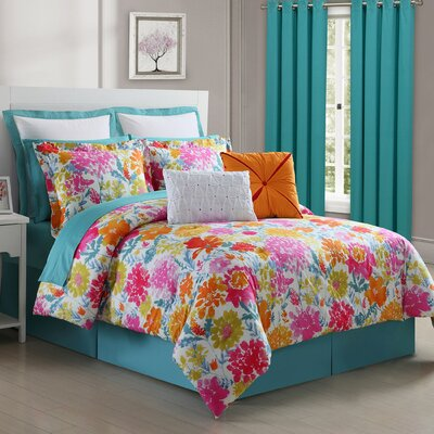 Garden Comforter Set Size: King