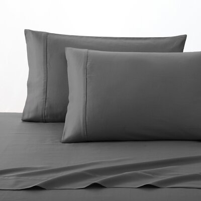 300 Thread Count 100% Cotton Sheet Set Size: Full, Color: Slate