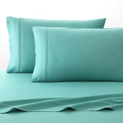 300 Thread Count 100% Cotton Sheet Set Size: Twin, Color: Turquoise