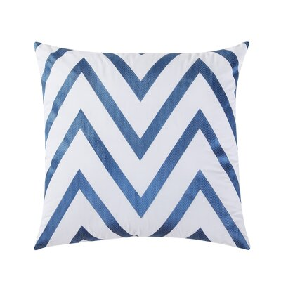 Fiesta Cotton Throw Pillow Color: Lapis