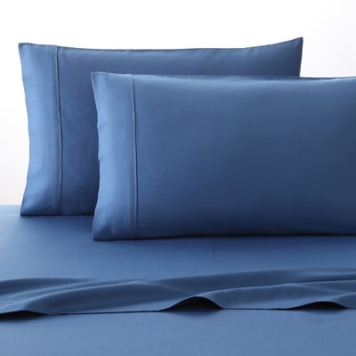 300 Thread Count 100% Cotton Sheet Set Size: Full, Color: Lapis
