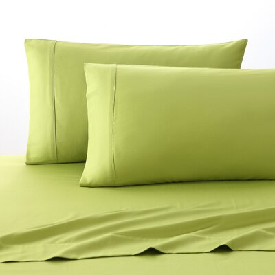 300 Thread Count 100% Cotton Sheet Set Size: Full, Color: Green