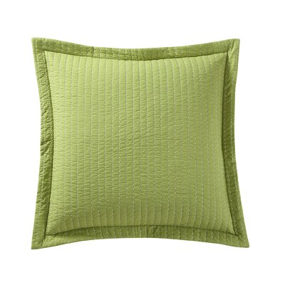 Dash Euro Sham Color: Sunflower/Lemongrass
