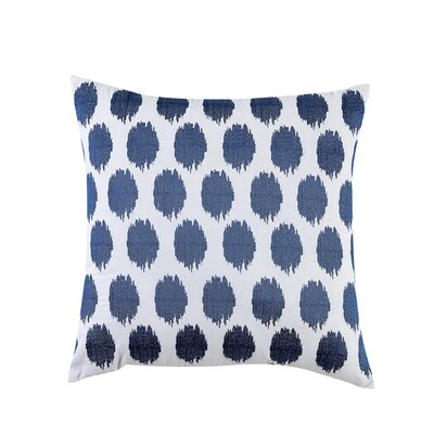 Fiesta Bedding Ikat Throw Pillow Color: Lapis
