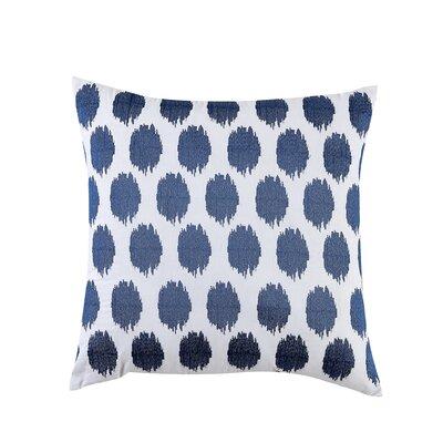 Fiesta Bedding Ikat Throw Pillow Color: Lapis