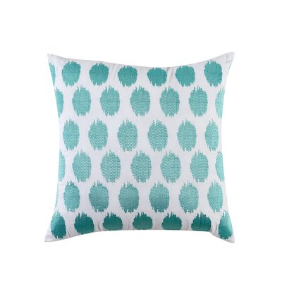 Fiesta Bedding Ikat Throw Pillow Color: Turquoise