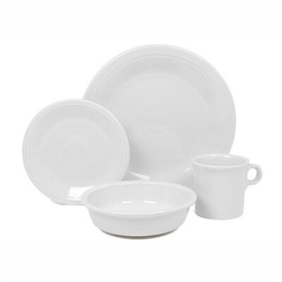 White Dinnerware Collection-white Chop Plate