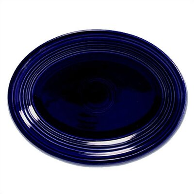 9 5/8 Oval Platter Mix n Match Collection-turquoise 9 5/8 Oval Platter