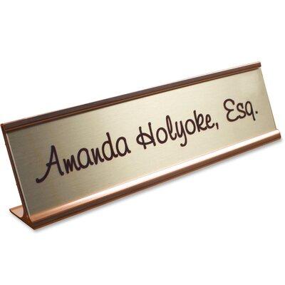 Desk Plate Signage Kit