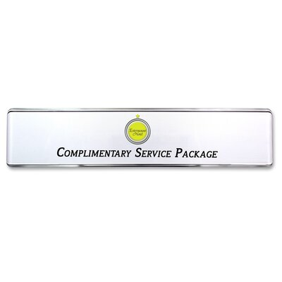 Contemporary Desk Signage Kit