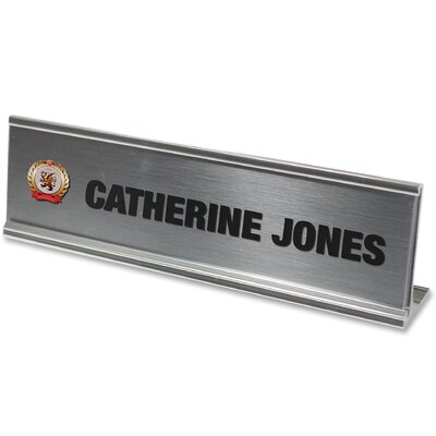Desk Plate Sign Kit
