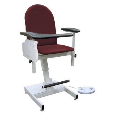 Winco Manufacturing Power Designer Blood Drawing Chair - Color: Gray, Style: Pivot Arm, TB133 at Sears.com