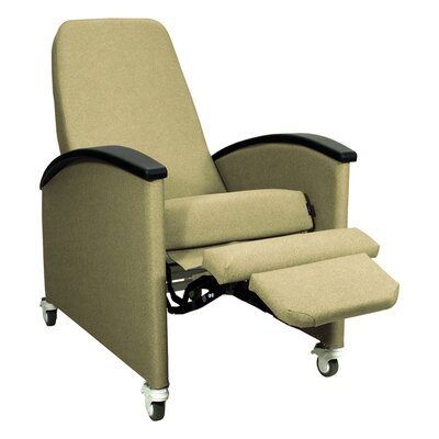 Winco Manufacturing Three Position Cozy Comfort Premier Recliner - Color: Hunter Green, Style: TB133 and Heat Massage Left Side Tray at Sears.com