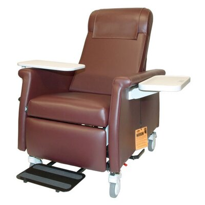 Winco Manufacturing Nocturnal Elite Care Recliner with LiquiCell - Color: Burgundy, Style: Heat, Massage at Sears.com