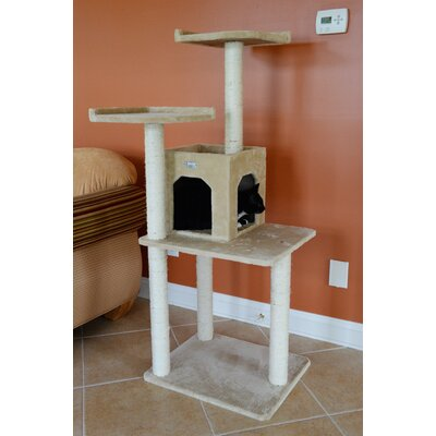 57 Cat Tree Color: Beige