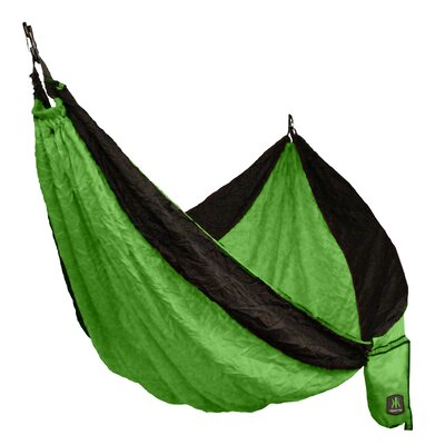 Double Camping Hammock Color: Ireland Green