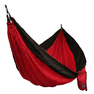 Single Camping Hammock Color: Red Rock Canyon