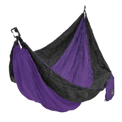 Single Camping Hammock Color: Kawachi Purple
