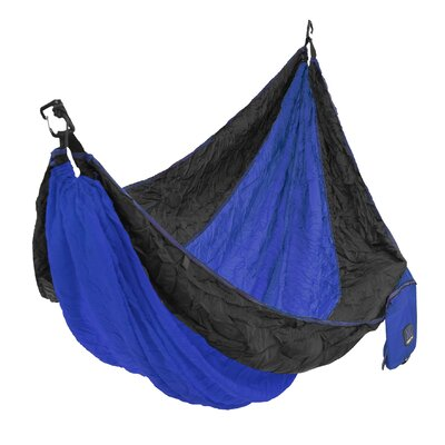 Single Camping Hammock Color: Maldives Blue