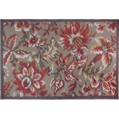 Tapestry Brown Rug Rug Size: 18 x 28