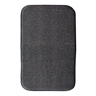 Comfort Gain Doormat Color: Black