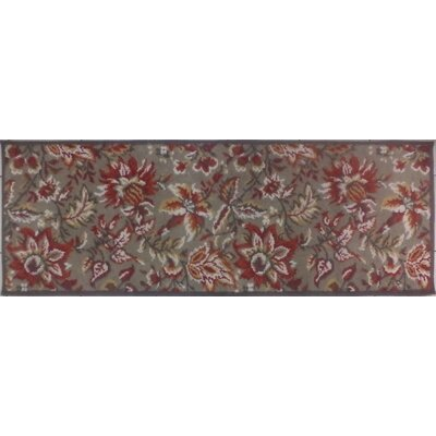 Tapestry Brown Rug Rug Size: Runner 2 x 6