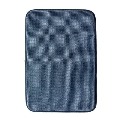 Comfort Gain Doormat Color: Blue