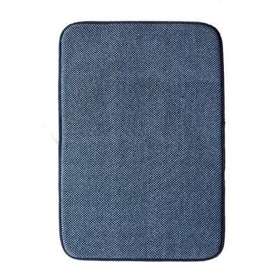 Comfort Gain Doormat Color: Blue