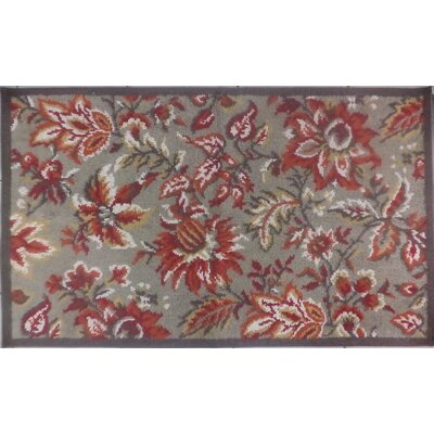 Tapestry Brown Rug Rug Size: 23 x 39
