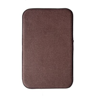 Comfort Gain Doormat Color: Dark Brown