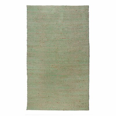 Crossfire Green Area Rug Rug Size: Runner 26 x 76
