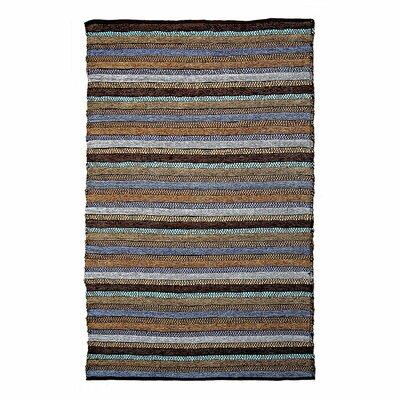 Dante Blue Area Rug Rug Size: 26 x 42