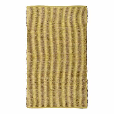 Matrix Yellow Area Rug Rug Size: 3 x 5