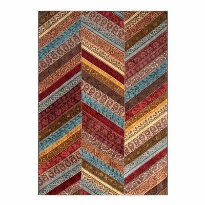 X-Patch Playa Area Rug Rug Size: 53 x 76