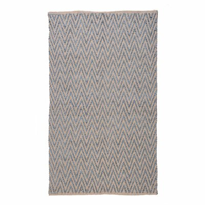 Ziggy Steel/Gray Area Rug Rug Size: 3 x 5