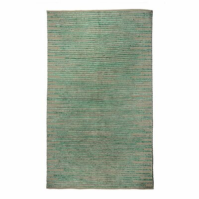 Misso Green Area Rug Rug Size: 76 x 96