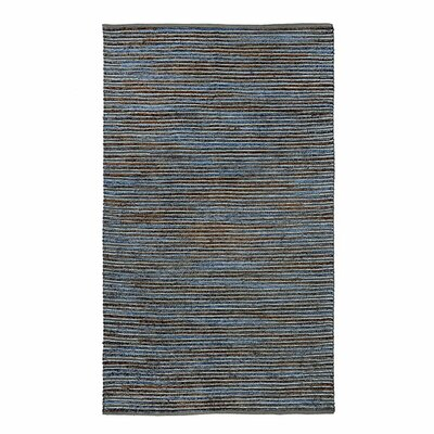 Misso Soil Steel/Gray Area Rug Rug Size: 5 x 8